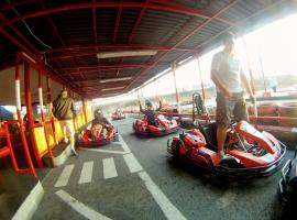 Stag party go karting is popular day-time activity in Budapest