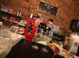 Hungarian wine tasting bar activities