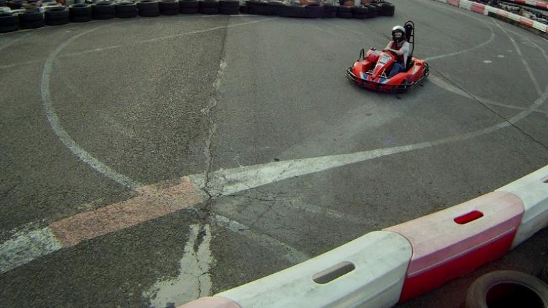 Outdoor Go Karting in Budapest, Hungary