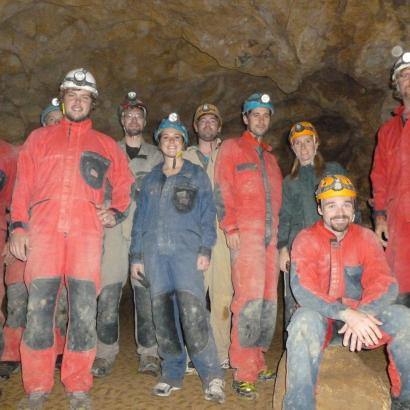 Exploring Stag Team in Buda cave