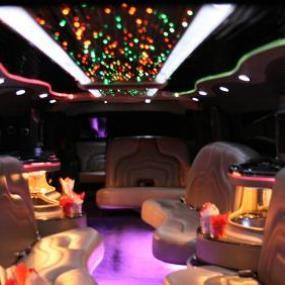 Budapest Hummer limousine with strippers