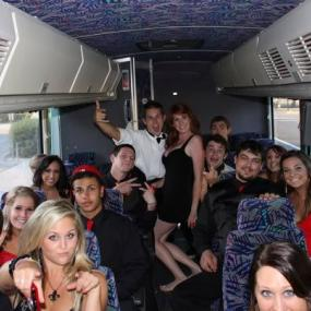 Party bus in Budapest - available for stag and hen parties