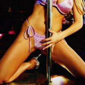 Budapest stag do airport transfer with striptease in limousine